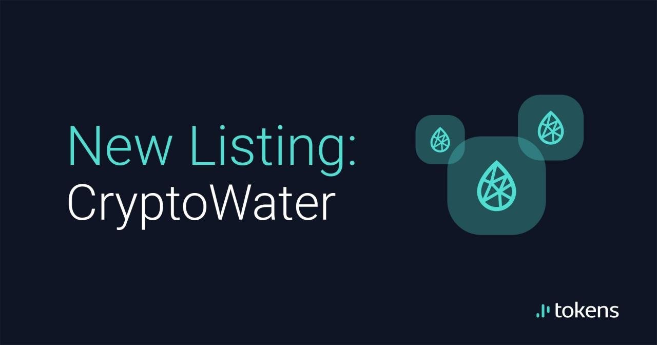 CryptoWater $C2O is coming to European cryptoexchange Tokens.net
